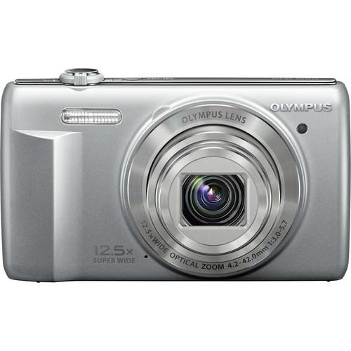 Olympus VR-370 Digital Camera (Silver)