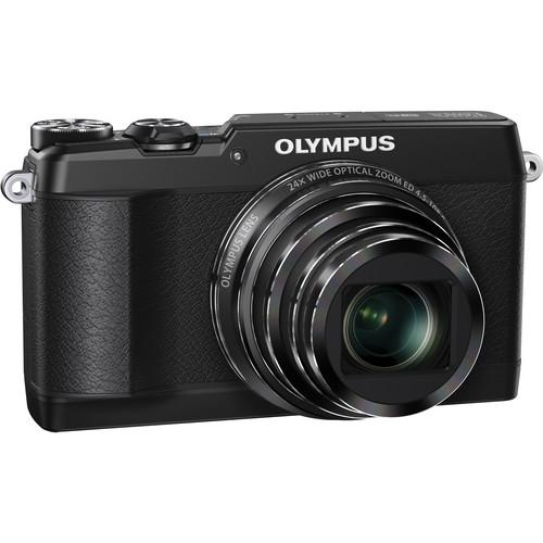 Olympus Stylus SH-1 Digital Camera (Black)