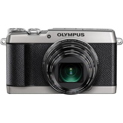 Olympus Stylus SH-2 Digital Camera (Silver)
