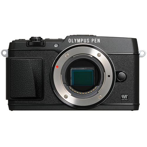Olympus PEN E-P5 Mirrorless Micro Four Thirds Digital Camera Body (Black)