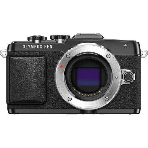 Olympus PEN E-PL7 Mirrorless Micro Four Thirds Digital Camera (Black)