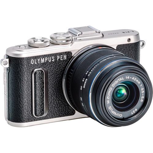 Olympus PEN E-PL8 Mirrorless Micro Four Thirds Digital Camera with 14-42mm Lens (Black)