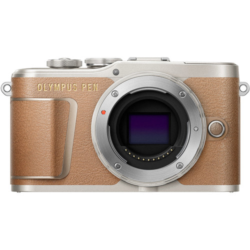 Olympus PEN E-PL9 Mirrorless Micro Four Thirds Digital Camera (Body Only, Brown)