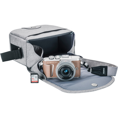 Olympus PEN E-PL9 Mirrorless Micro Four Thirds Digital Camera with 14-42mm Lens (Brown)