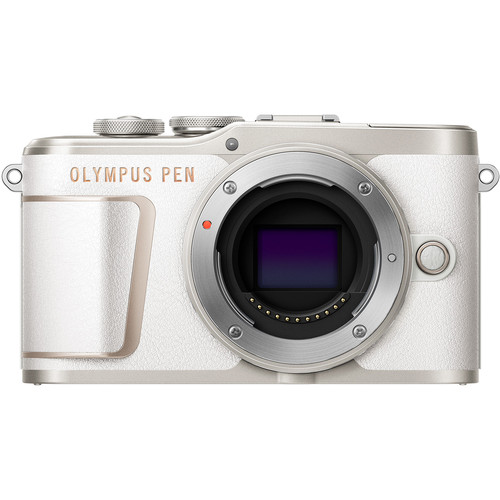 Olympus PEN E-PL10 Mirrorless Digital Camera (Body Only, White)