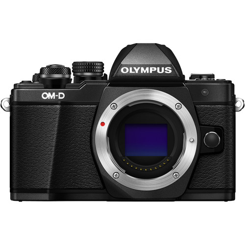 Olympus OM-D E-M10 Mark II Mirrorless Micro Four Thirds Digital Camera (Body Only, Black)