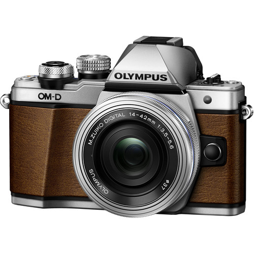 Olympus E-M10 Mark II Limited Edition Mirrorless Micro Four Thirds Digital Camera with 14-42mm Lens