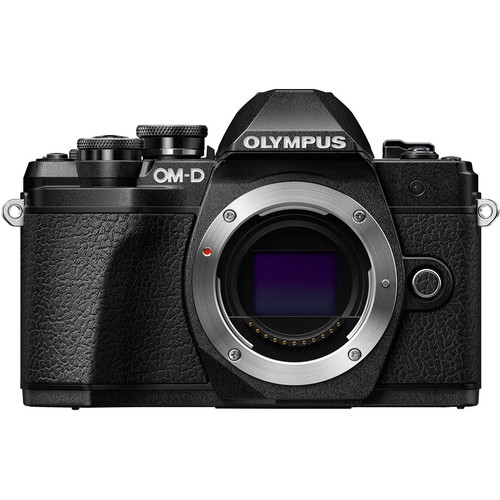 Olympus OM-D E-M10 Mark III Mirrorless Micro Four Thirds Digital Camera (Body Only, Black)