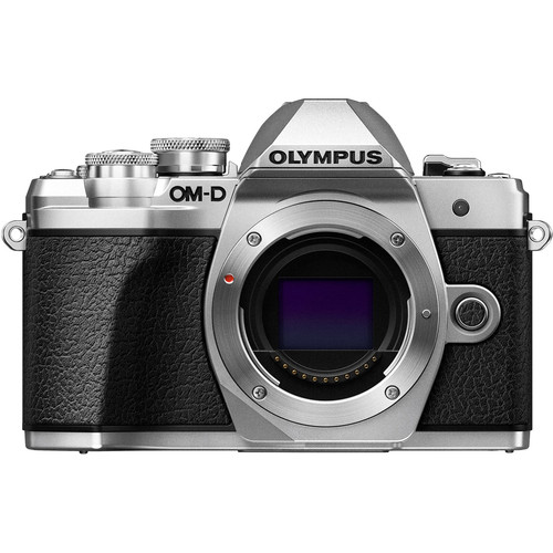 Olympus OM-D E-M10 Mark III Mirrorless Micro Four Thirds Digital Camera (Body Only, Silver)