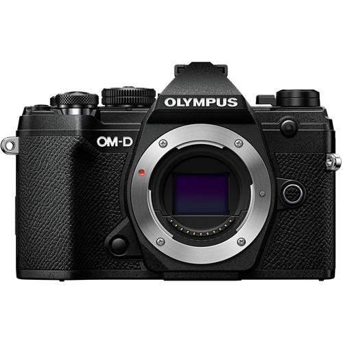 Olympus OM-D E-M5 Mark III Mirrorless Digital Camera (Body Only, Black)