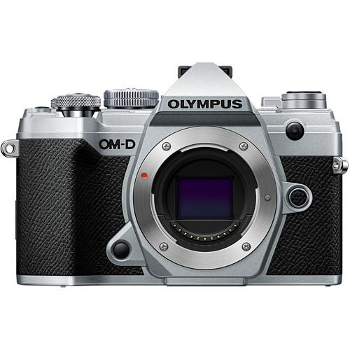Olympus OM-D E-M5 Mark III Mirrorless Digital Camera (Body Only, Silver)
