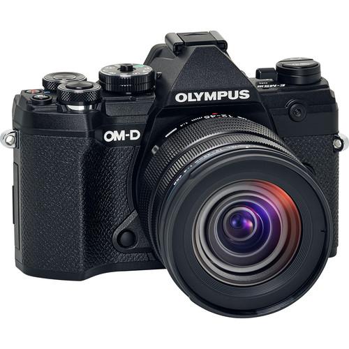 Olympus OM-D E-M5 Mark III Mirrorless Digital Camera with 12-45mm Lens (Black)