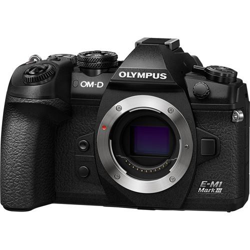 Olympus OM-D E-M1 Mark III Mirrorless Digital Camera (Body Only)