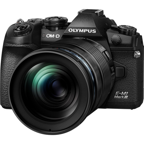 Olympus OM-D E-M1 Mark III Mirrorless Digital Camera with 12-100mm Lens