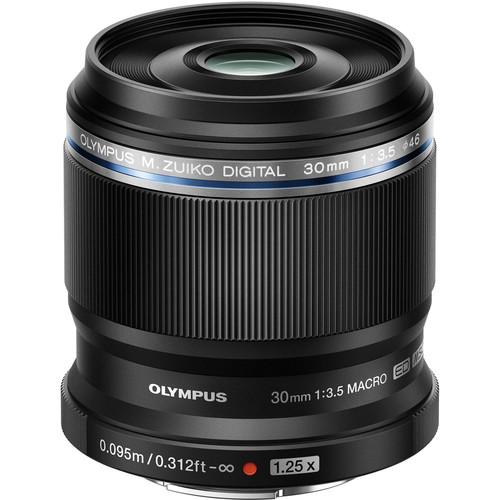 Olympus M.Zuiko Digital ED 30mm f/3.5 Macro Lens