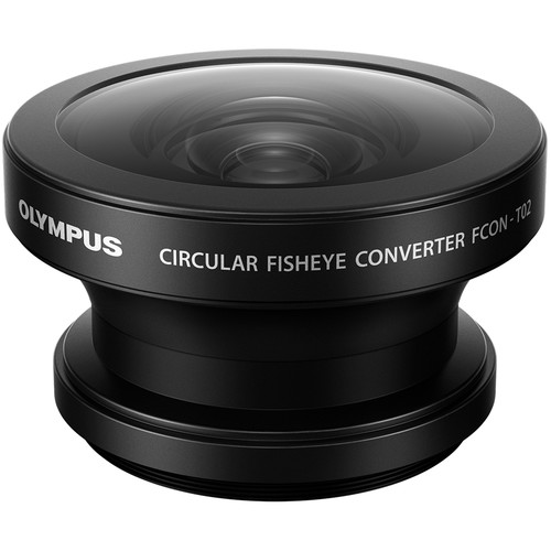 Olympus FCON-T02 Fisheye Converter Lens with CLA-T01 Adapter Tough Pack Kit