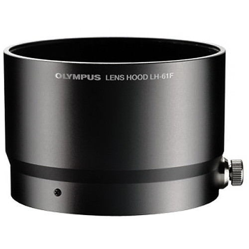 Olympus LH-61F Lens Hood for M.ZUIKO DIGITAL ED 75mm 1:1.8 Lens (Black)