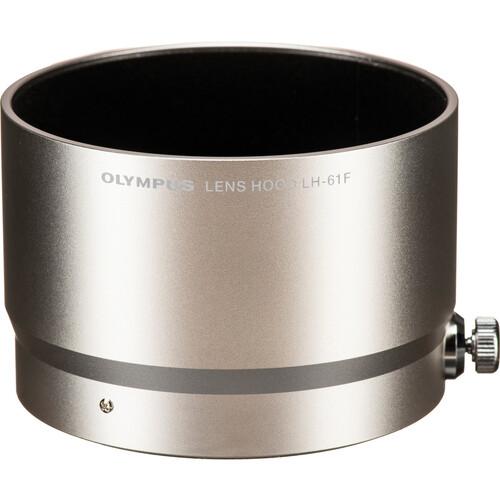 Olympus 61F Lens Hood for M.Zuiko Digital ED 75mm f/1.8 Lens (Silver)
