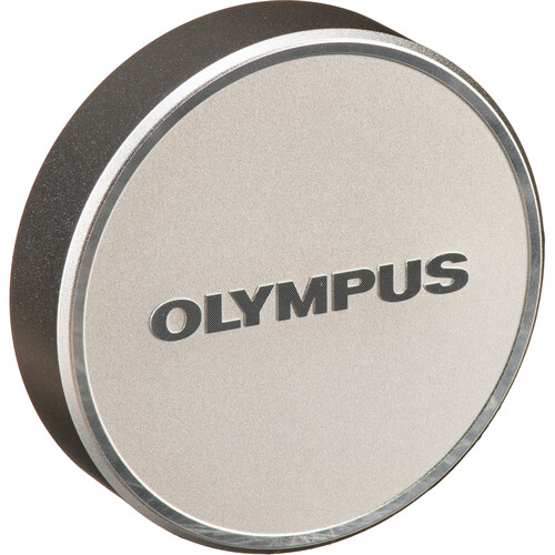 Olympus LC-48B Lens Cap for M.Zuiko Digital 17mm 1:1.8 Lens (Silver)