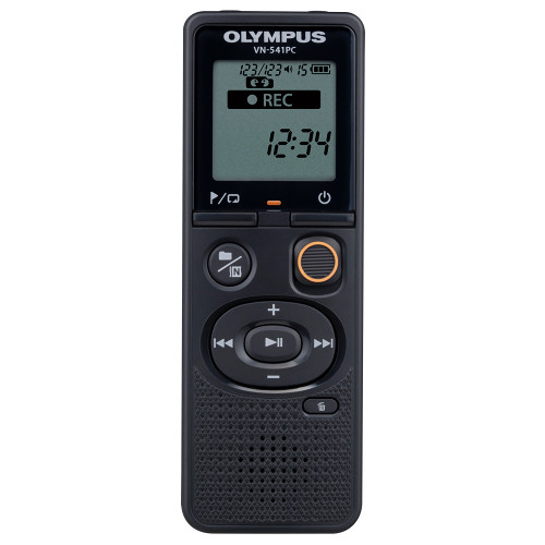 Olympus Olympus VN-541PC Digital Voice Recorder (BLACK)