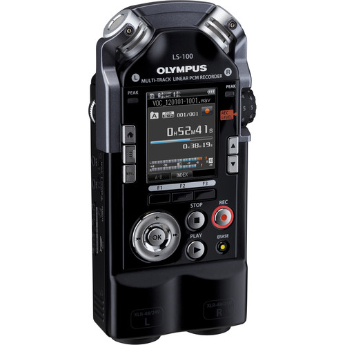 Olympus LS-100 Portable Multitrack 24-Bit / 96 kHz PCM Recorder