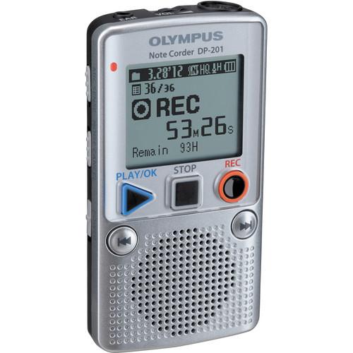 Olympus Note Corder DP-201NB Digital Recorder
