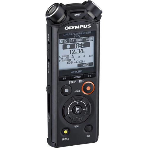 Olympus LS-P2 Linear PCM Digital Recorder
