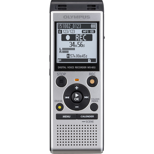 Olympus WS-852 Digital Voice Recorder (Silver)