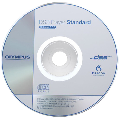 Olympus DSS Player Standard R2 Dictation Module Software (CD)