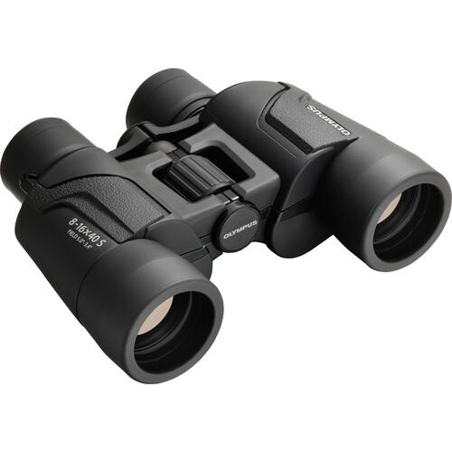 Olympus 8-16x40 Explorer S Zoom Binoculars (Black)