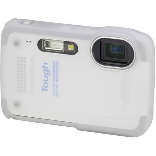 Olympus White Silicone Jacket for TG-630 iHS Camera