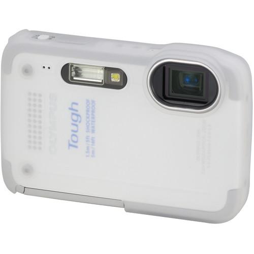 Olympus Silicone Jacket for TG-630 iHS Camera (White)