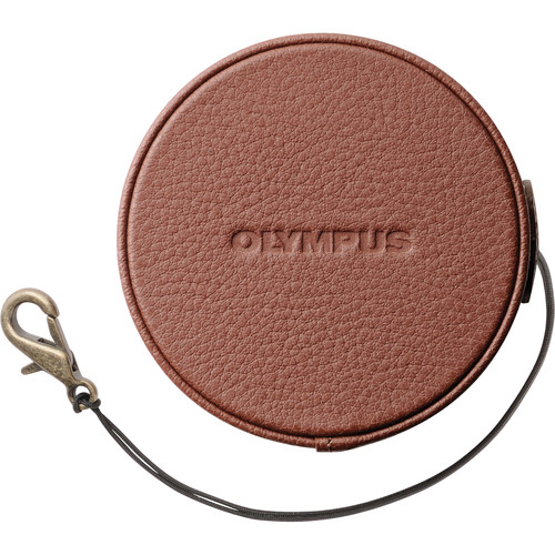 Olympus LC-60.5GL Leather Lens Cover for 14-42mm f/3.5-5.6 EZ Lens (Brown)