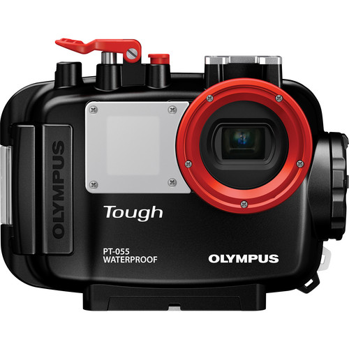 Olympus PT-055 Underwater Housing for TG-830 Digital Camera