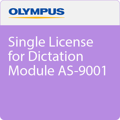 Olympus Single License for Dictation Module AS-9001