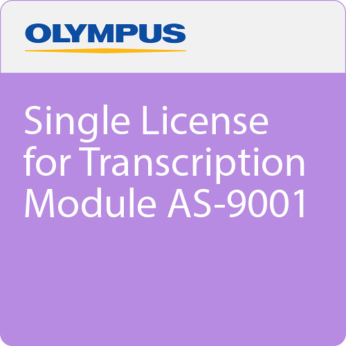 Olympus Single License for Transcription Module AS-9001
