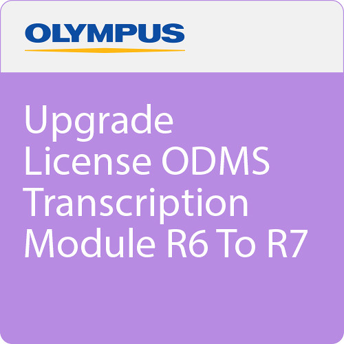 Olympus Upgrade License ODMS Transcription Mod R6 To R7