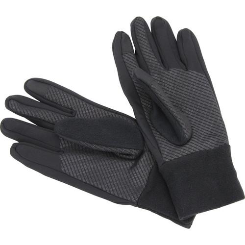 Omegon Touchscreen Gloves (Black, Large)