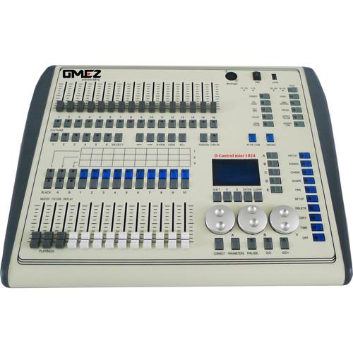 OMEZ O-CONTROLL MINI-1024 - 2 DMX UNI CNTRL