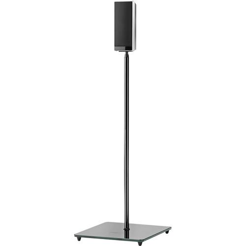 OmniMount EL0 Floor Stand for Small Satellite Speakers (Pair, Black)