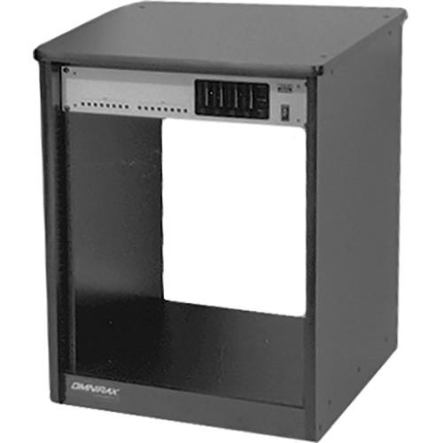 Omnirax 14-Space Rack Cabinet