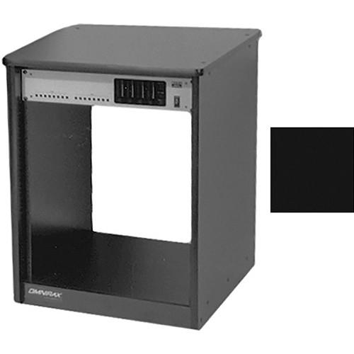Omnirax 14 Space Rack Cabinet (Black)