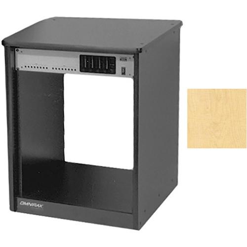 Omnirax 14 Space Rack Cabinet (Maple)
