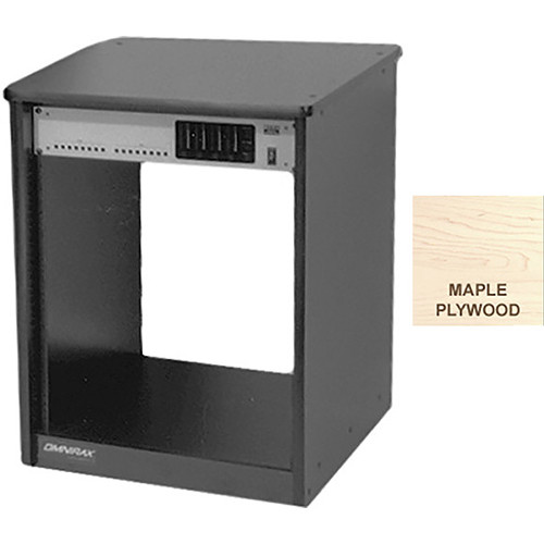 Omnirax 14 Space Rack Cabinetr (Maple Plywood)