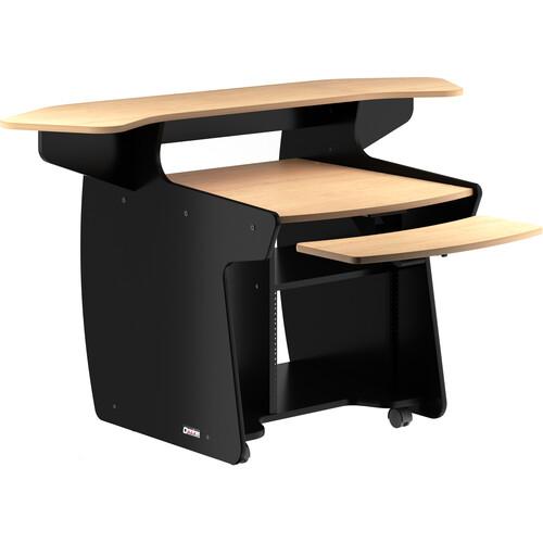 Omnirax CODA Mixing / Digital Editing Workstation Desk (Maple Formica)