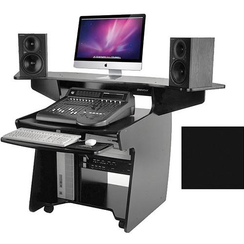 Omnirax Mixing / Digital Editing Workstation Desk (Black)