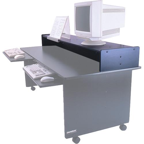 Omnirax Monitor Riser for Dual Table