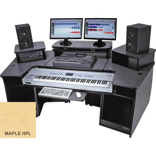 Omnirax F2 Keyboard Composing / Mixing Workstation (Maple Formica)