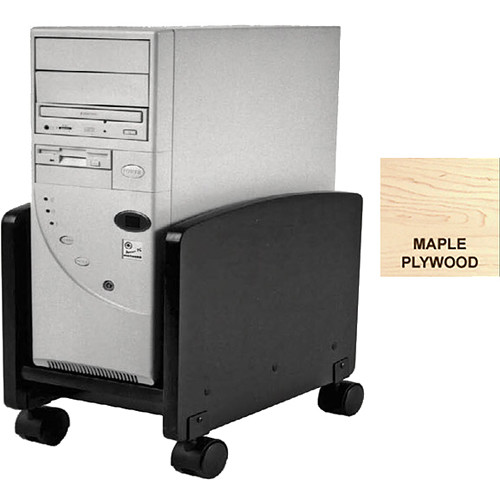 Omnirax Rolling Cart for Wider CPUs (Maple Plywood)
