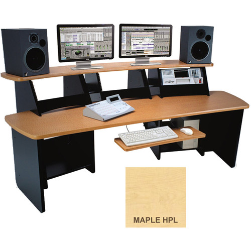 Omnirax Force 12 Multi-Purpose Audio Video Workstation (Maple Formica)